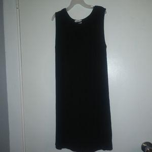 Black Glitz Sleeveless Dress